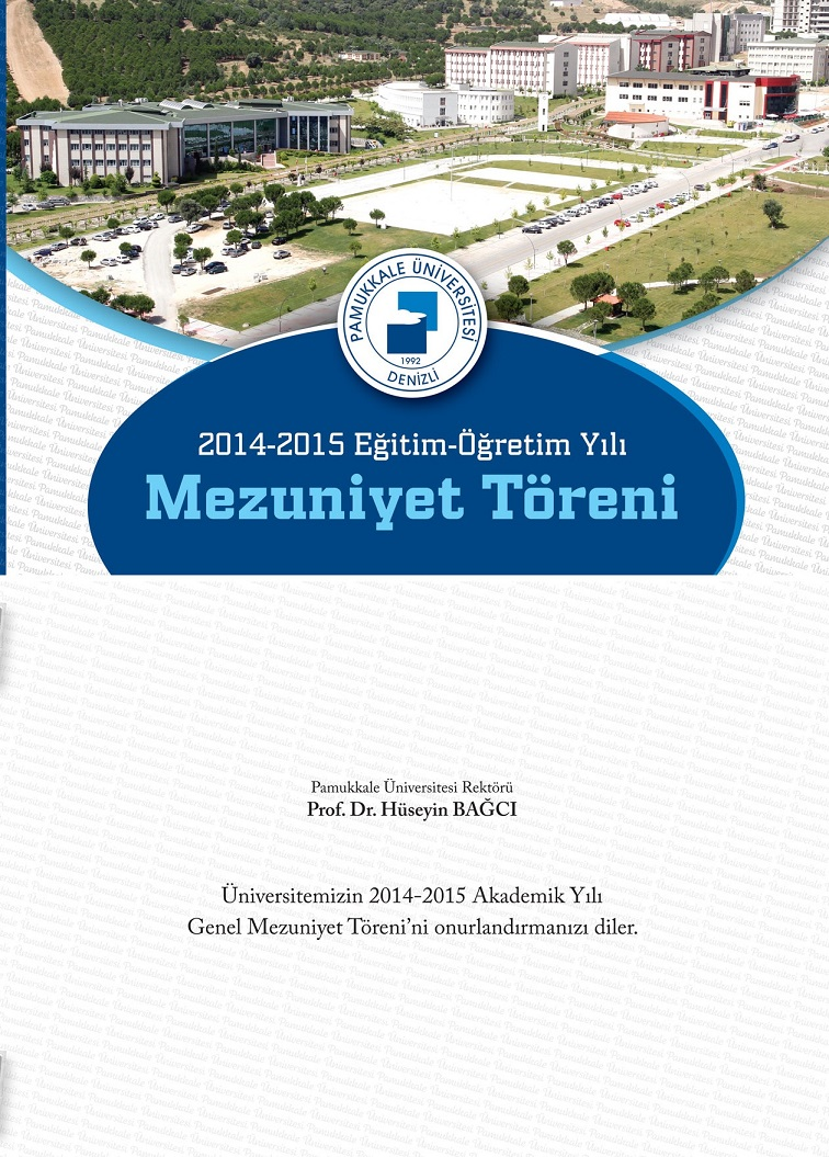 Pamukkale Üniversitesi 2015 Mezuniyet Töreni1