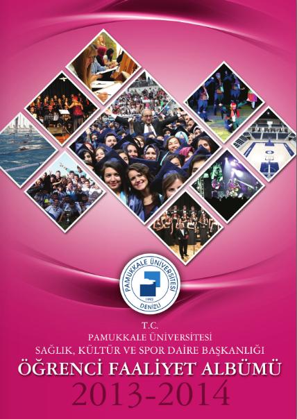 2013-2014 Öğrenci Faaliyet Albümü